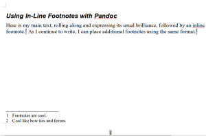 Output from Pandoc viewed in LibreOffice Writer.